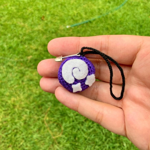 Animal Crossing inspired Fossil Keychain