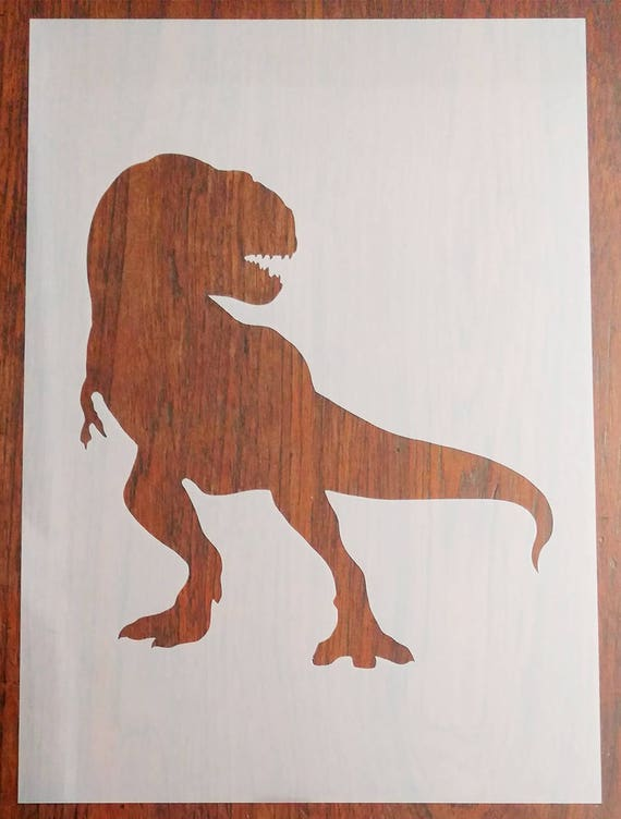 DIY T-Rex Dinosaur Stencil Mask Reusable PP Sheet for Arts /& Crafts