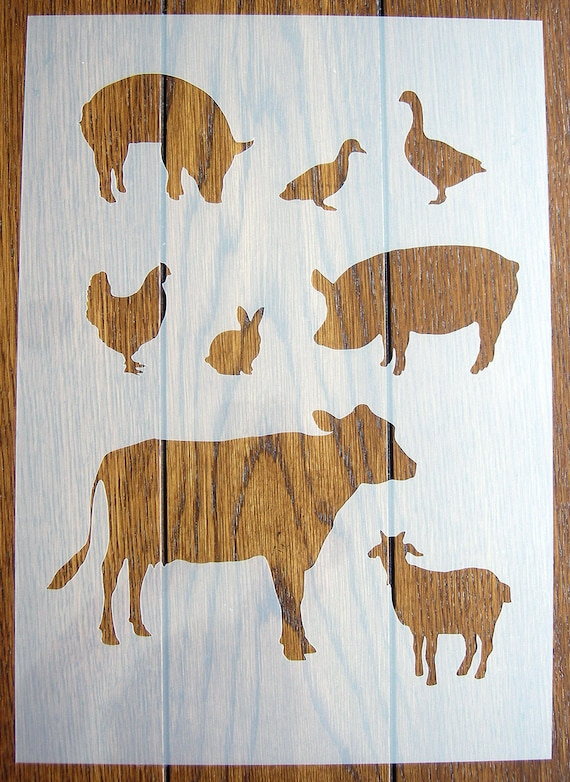 DIY Backgrounds Stencil Reusable Polypropylene Sheet for Arts /& Crafts