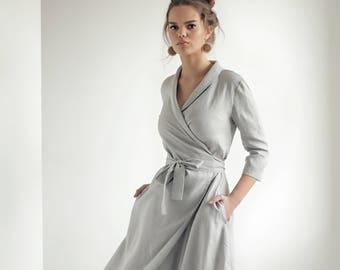 13b2fdf3c1 Long linen dress