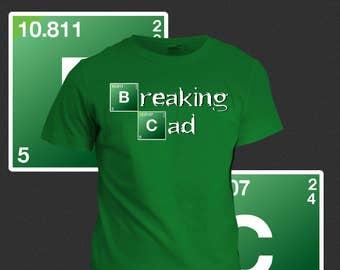 Breaking CAD Engineering T-Shirt