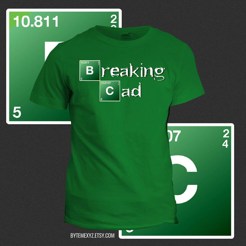 Breaking CAD Engineering T-Shirt image 0