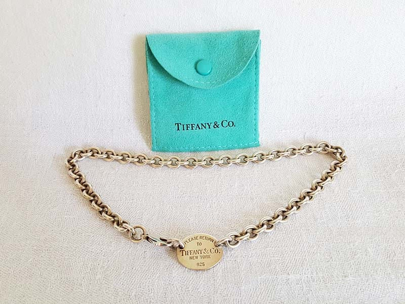 825d07267 Tiffany & Co Silver 925 Round Link Chain Necklace