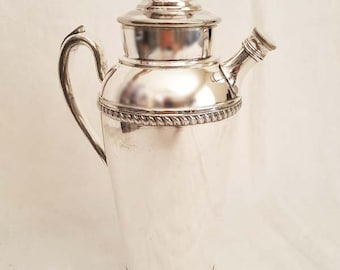 Art Deco Vintage E.S.C. E.P.N.S. Silverplate Cocktail Shaker