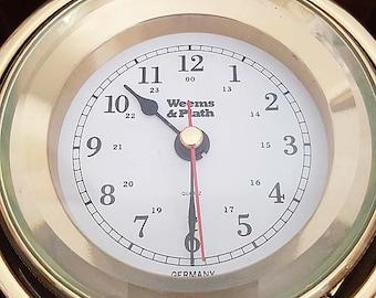 Weems & Plath Gimbal Box Clock
