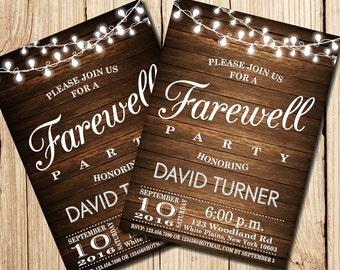 Printable Farewell Etsy