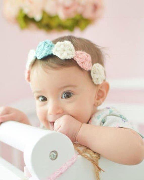 Baby Girl Headband Baby Headband Newborn Headband Etsy