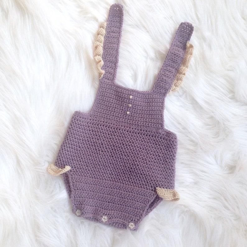 Baby Romper Pattern Baby Crochet Pattern Crochet Baby Etsy