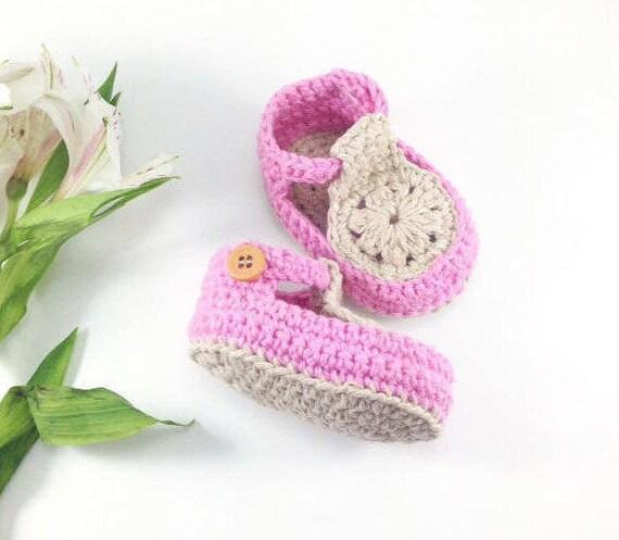 Crochet Baby Shoes Baby Shoes Crochet Baby Patterns Etsy