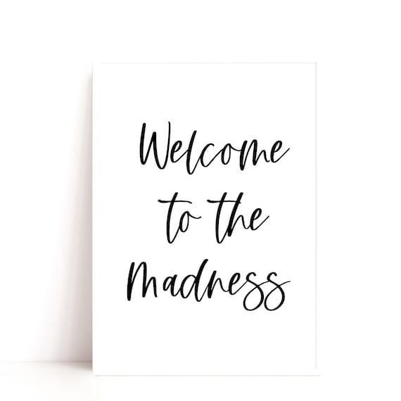 Welcome Quote Print, Entrance Decor, Hallway Art Print. Welcome Sign, Housewarming Gift Idea