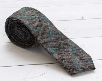 "The ""Eyes On the Stars, Feet On the Ground"" Plaid Tie"