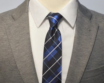 """The """"Ryder's on the Storm"""" Plaid Tie"""
