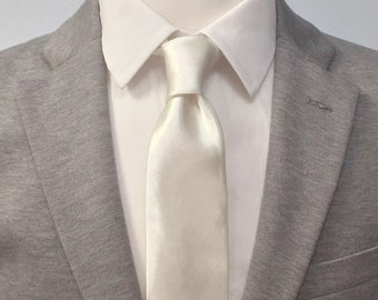 "The ""White Wedding"" Silk Tie"