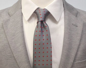 "The ""Chicken Pox"" Polka Dot Tie"