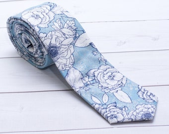 "The ""I Believe..."" Floral Tie."