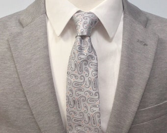 "The ""Orange You Glad I Didn't Say Paisley?"" Tie"