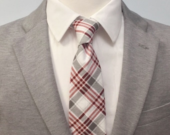 """The """"They've Gone To Plaid"""" Plaid Tie"""
