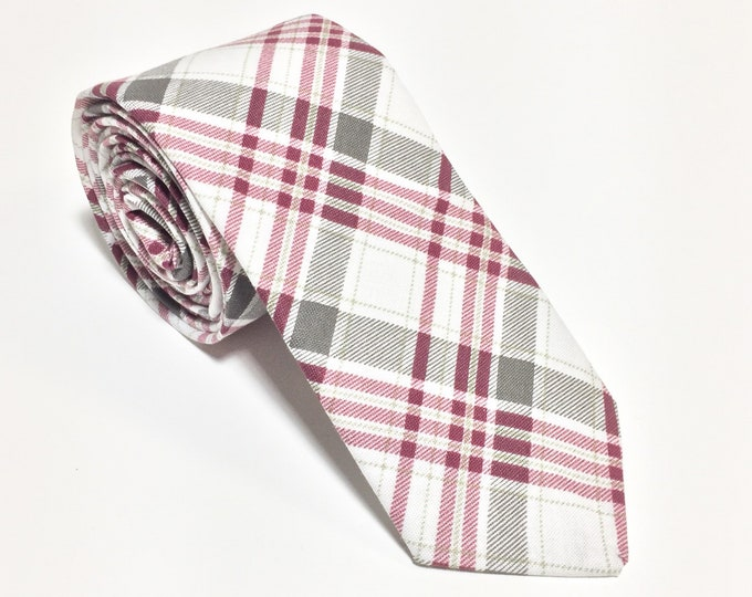 """Featured listing image: The """"They've Gone To Plaid"""" Plaid Tie"""