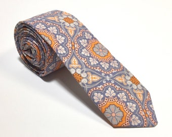 """The """"Sock It To Me"""" Floral Tie."""