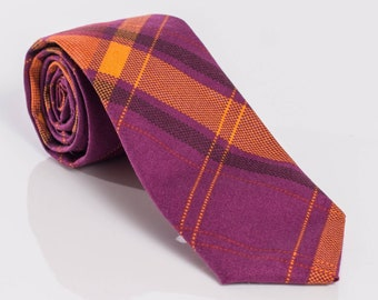 """The """"Endless Summer"""" Plaid Tie."""