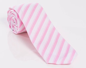"""The """"Why Am I Mr. Pink?"""" Striped Tie"""