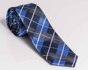 "The ""Ryder's on the Storm"" Plaid Tie"