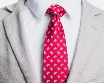 """The """"Red Eye"""" Paisley Tie"""