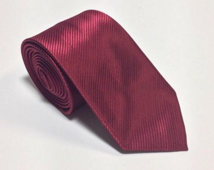 """Featured listing image: The """"Red Wedding"""" Silk Tie"""