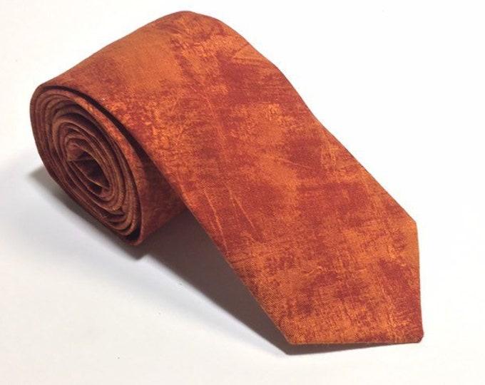 "Featured listing image: The ""Burn Pile"" Plain Tie"