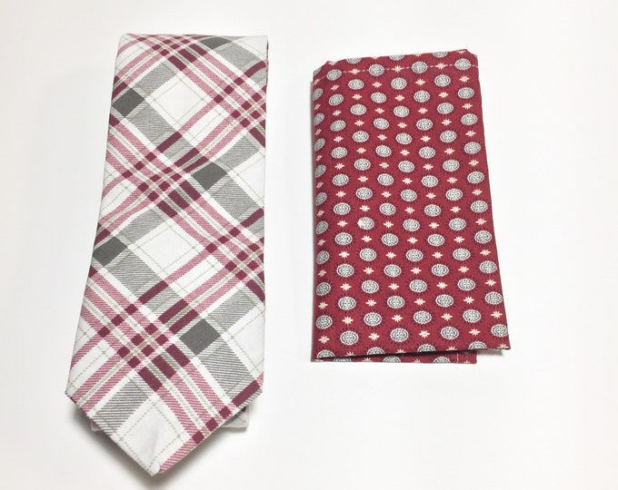 "Featured listing image: ""They've Gone To the North Star"" Tie and Square Pack"