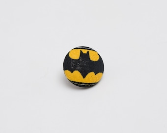 """Bat Signal"" Batman Lapel Button"