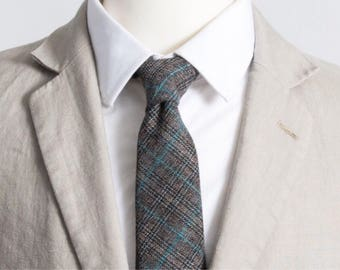 """The """"Eyes On the Stars, Feet On the Ground"""" Plaid Tie"""