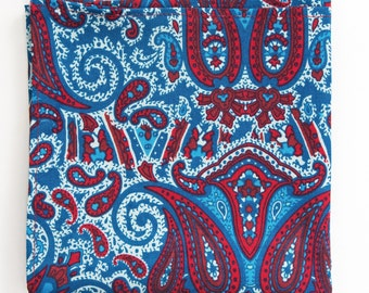 "The ""Call Me Paisley"" Pocket Square."