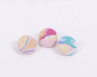 Pastel Lapel Button Series