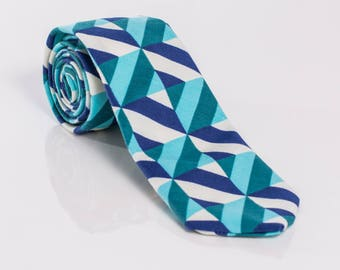 """The """"Fortune Favors the Bold"""" Striped Tie"""