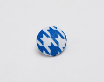 """The """"Hound's Wisdom Tooth"""" Hounds-tooth Lapel Button"""
