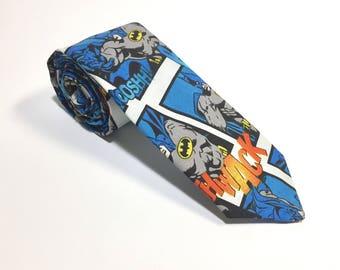 "The ""Batsy"" Comic Book Tie"