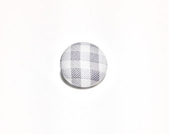 """Static"" Lapel Button"