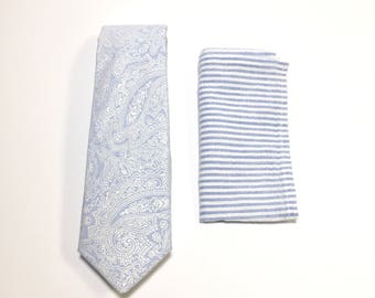 """The """"Don't Be a Seersucker Purdie"""" Tie and Square Pack"""