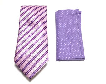 """The """"Booming Purple People Eater"""" Tie and Square Pack"""