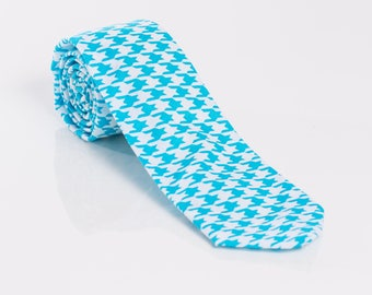 """The """"Shepherd's Check"""" Hounds-tooth Tie"""