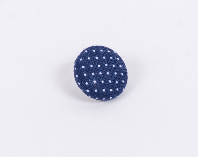 """Polka"" Polka Dot Lapel Button"