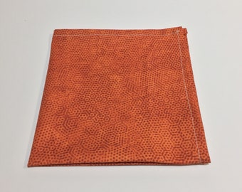 "The ""Honeycomb"" Pocket Square."