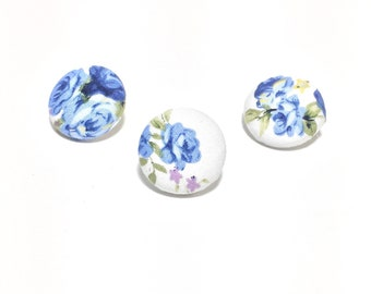 Floral Lapel Button Series