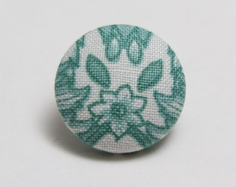 """Flore"" Floral Lapel Button"