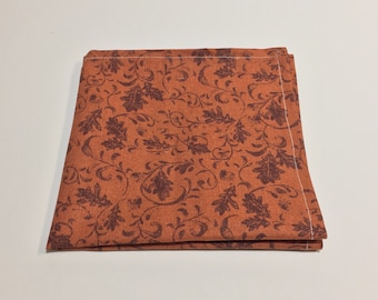 "The ""Falling Leaves"" Pocket Square."