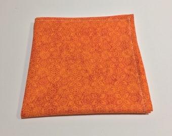 """The """"Fall is Coming"""" Pocket Square."""