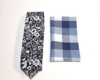 """The """"King Elsie Bell"""" Tie and Square Pack"""