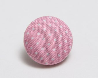 """Krang"" Polka Dot Lapel Button"