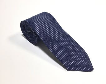 """The"""" If You Build It, He Will Come"""" Polka Dot Tie."""